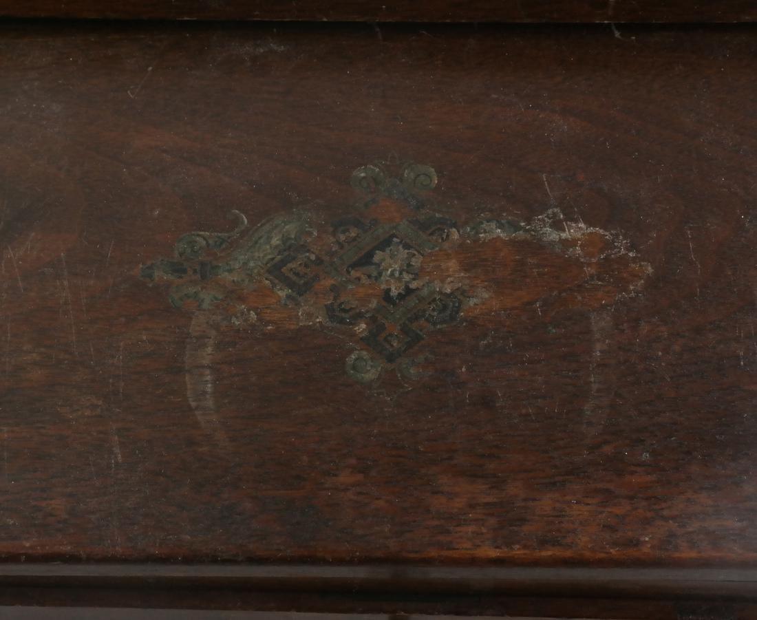 Antique Cylinder Roll Lap Desk - 3