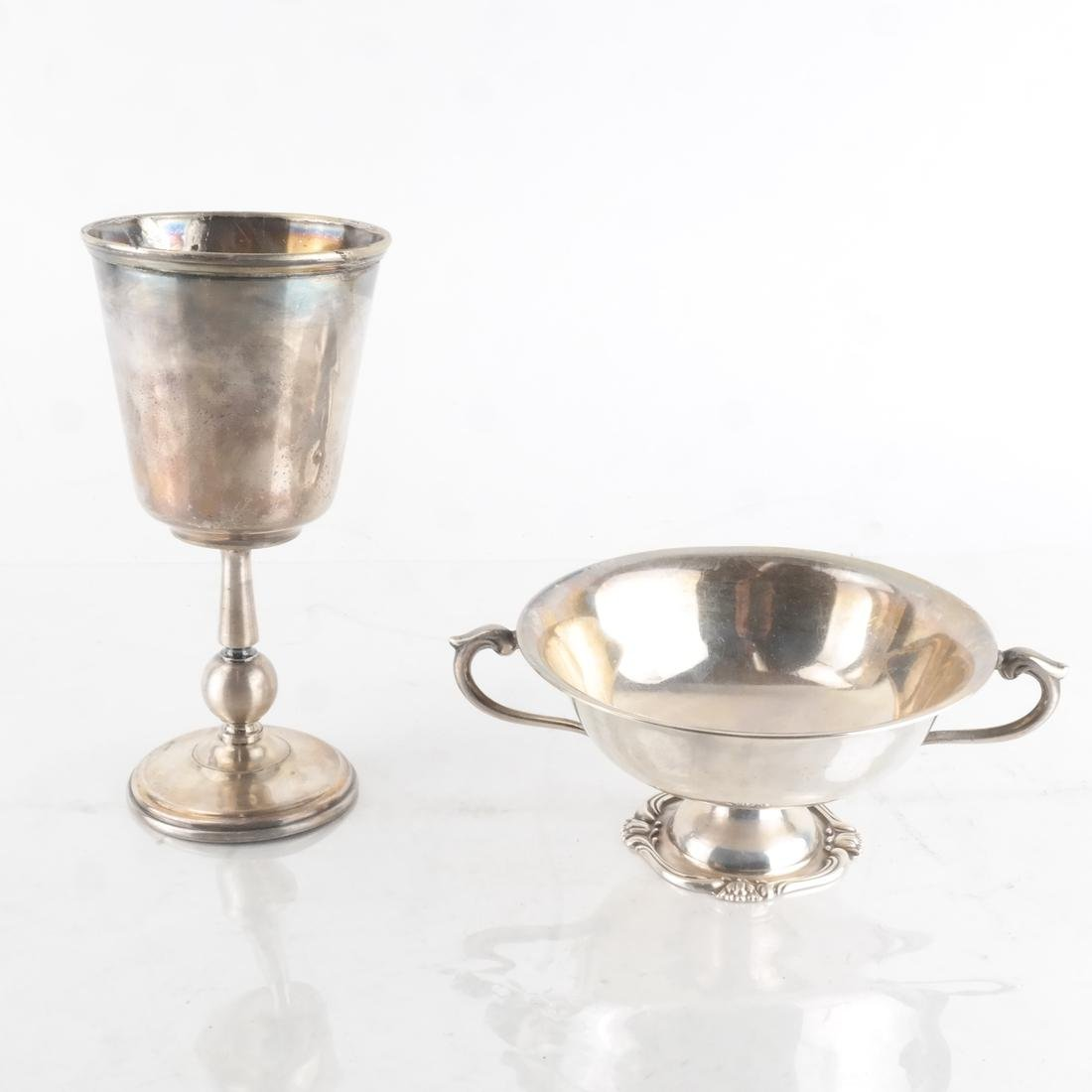 Peruvian Silver Sorbet Cups & Another - 2