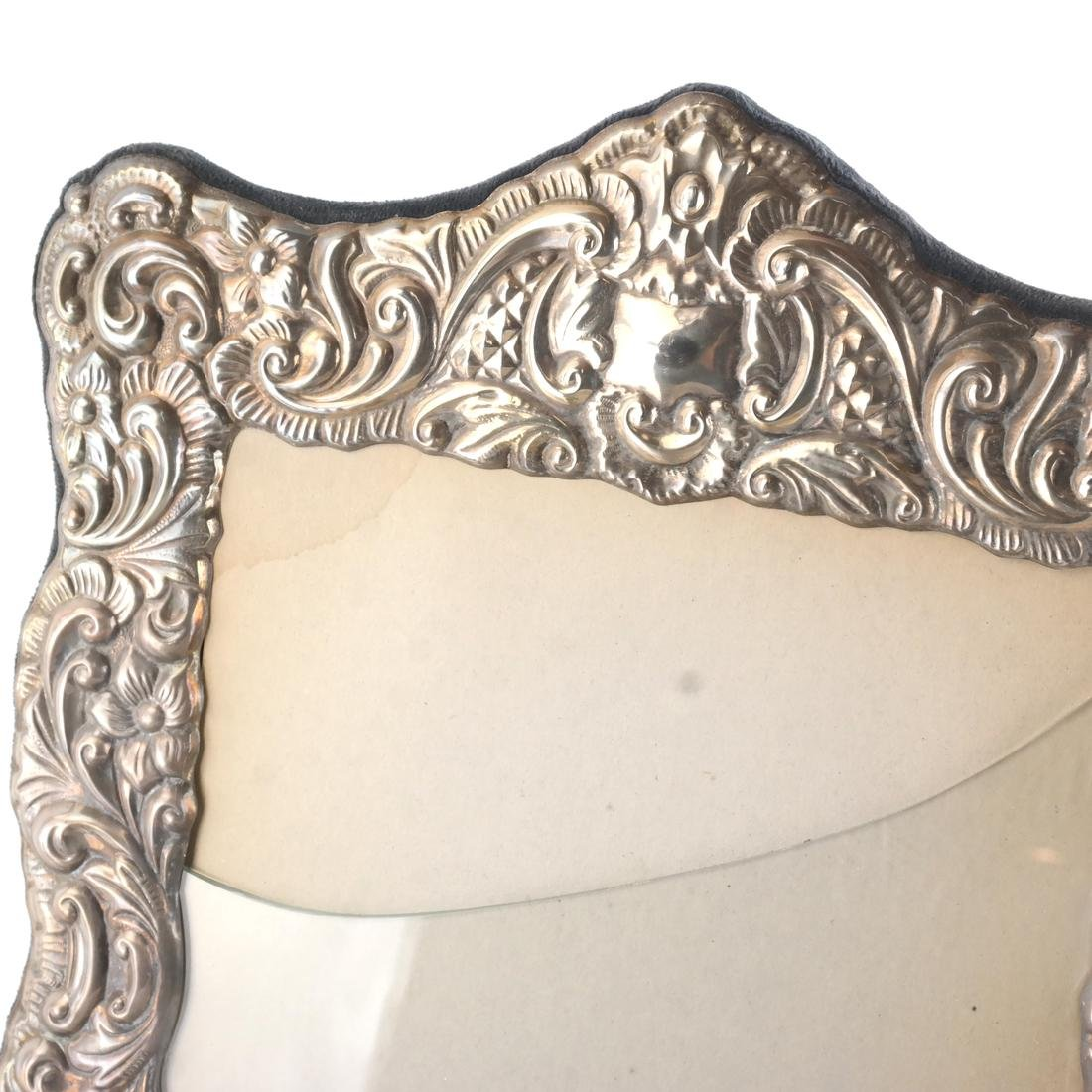 Two Silver and One Silver Plate Frame - 2