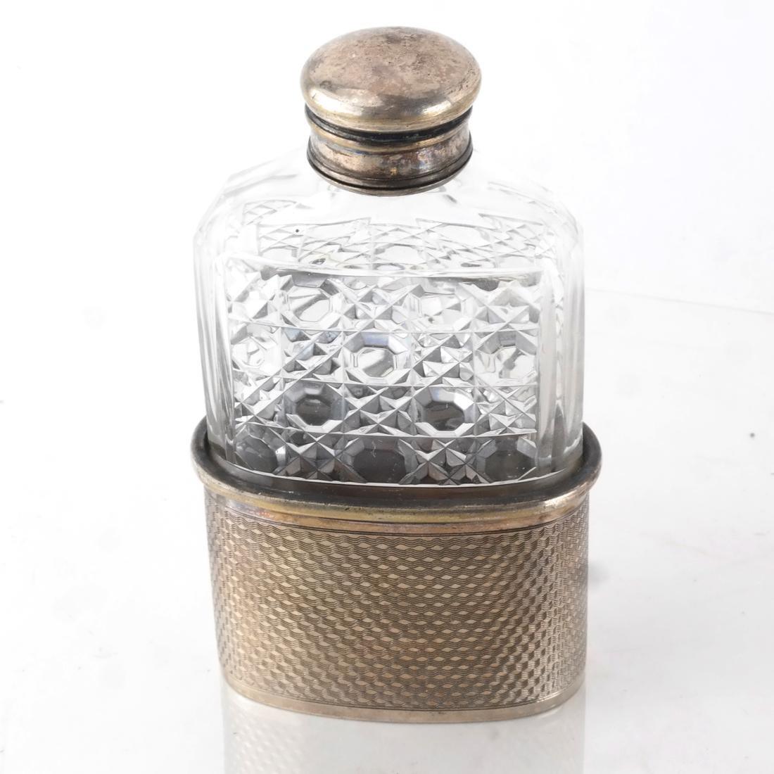 Asst. Silver Pin Trays, Receivers, Flasks - 6