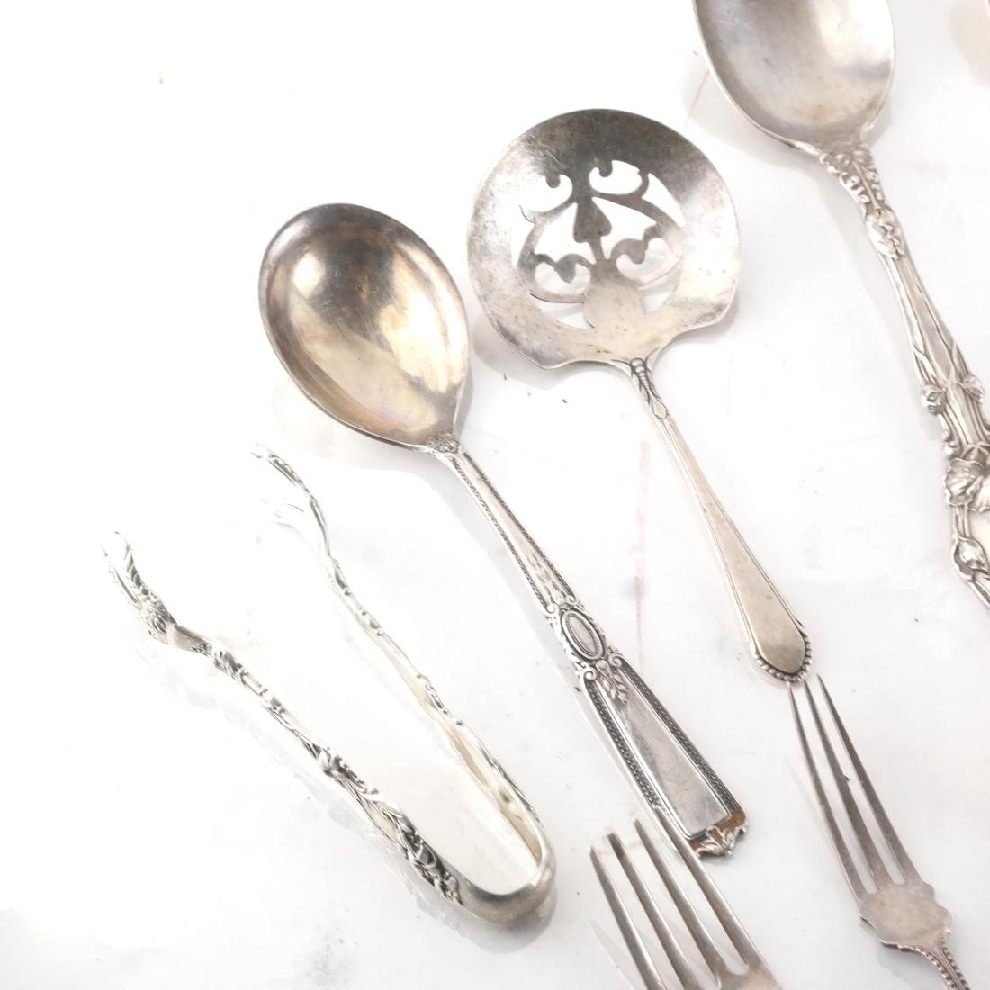 16 Pc. Silver Gorham & Other Tableware - 2