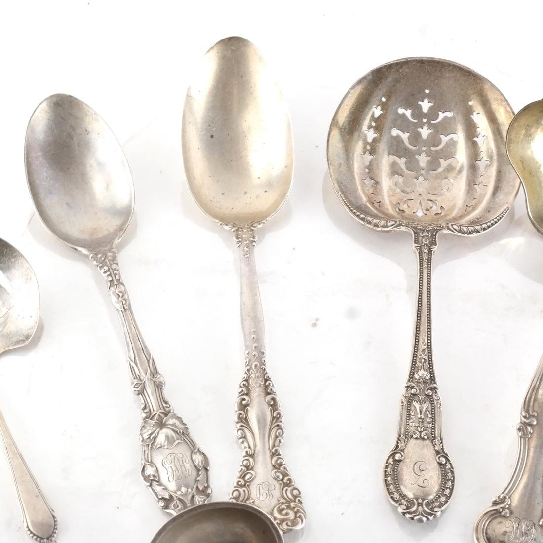 16 Pc. Silver Gorham & Other Tableware - 3