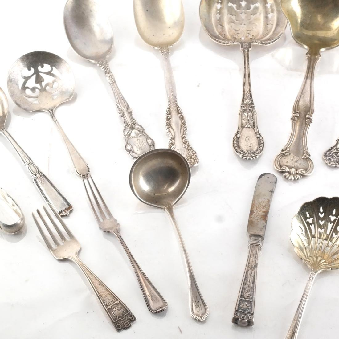 16 Pc. Silver Gorham & Other Tableware - 5
