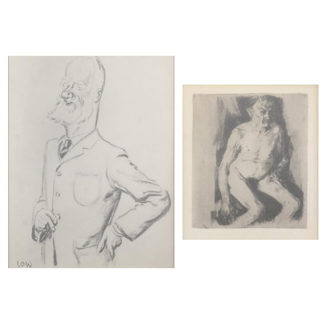 Two Male Studies