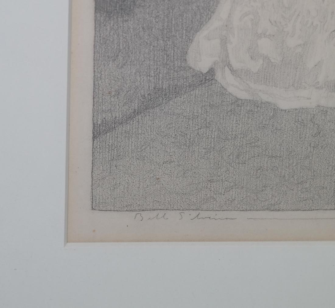 Belle Silveira Gorski, Portrait - Framed Drawing - 3