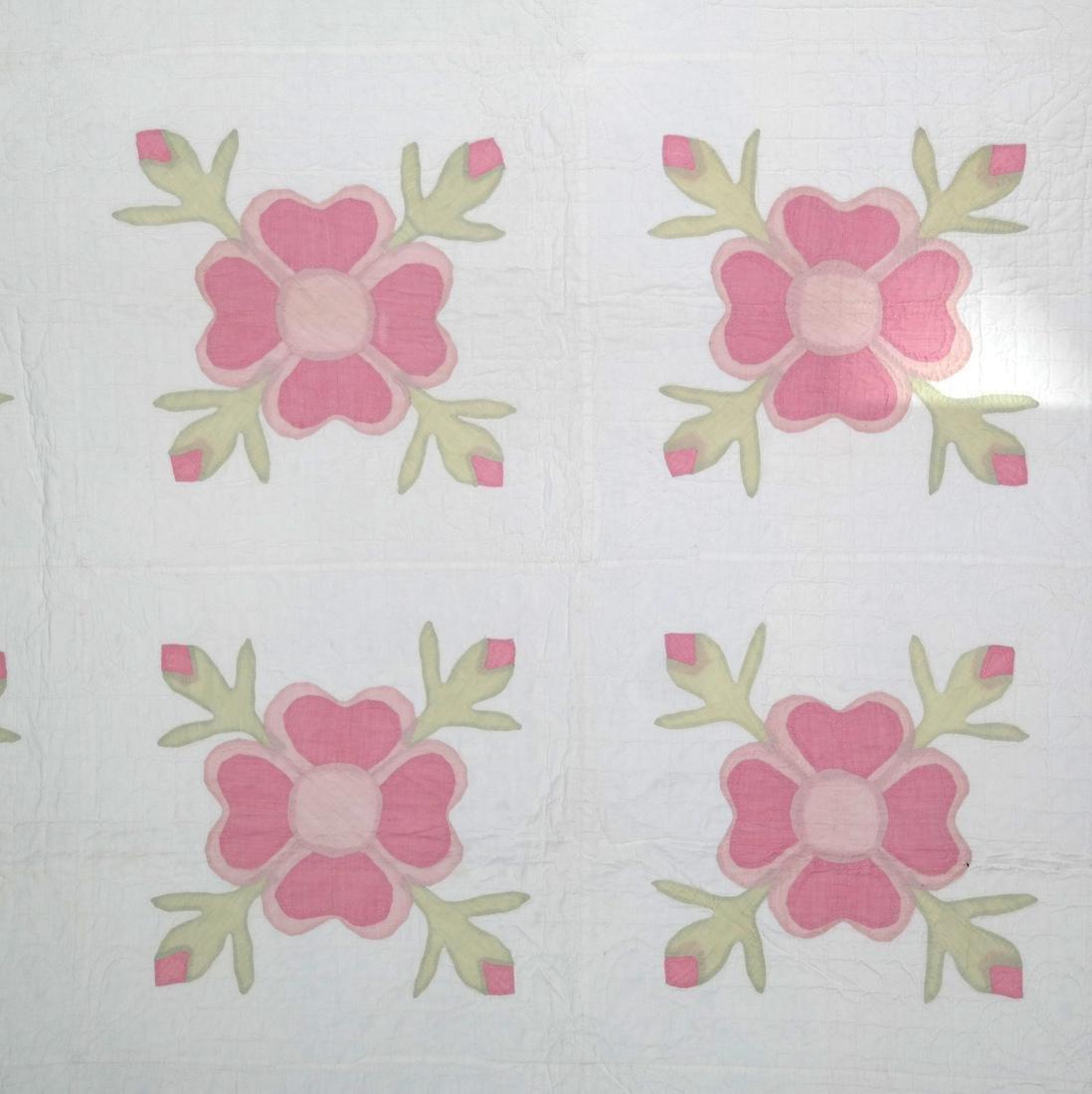 Quilt, Rose of Sharon, c. 1930 - 2