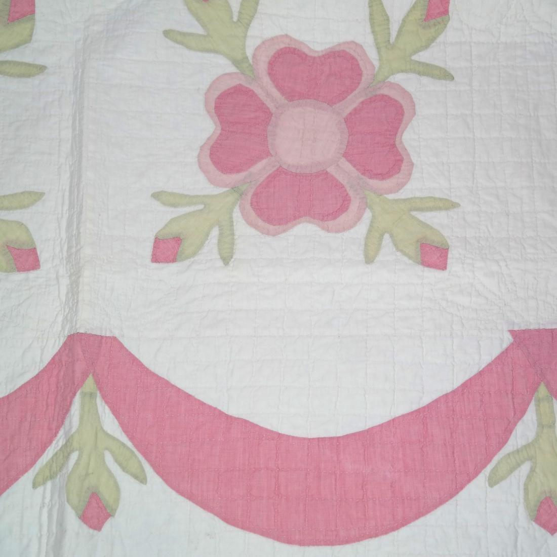 Quilt, Rose of Sharon, c. 1930 - 3