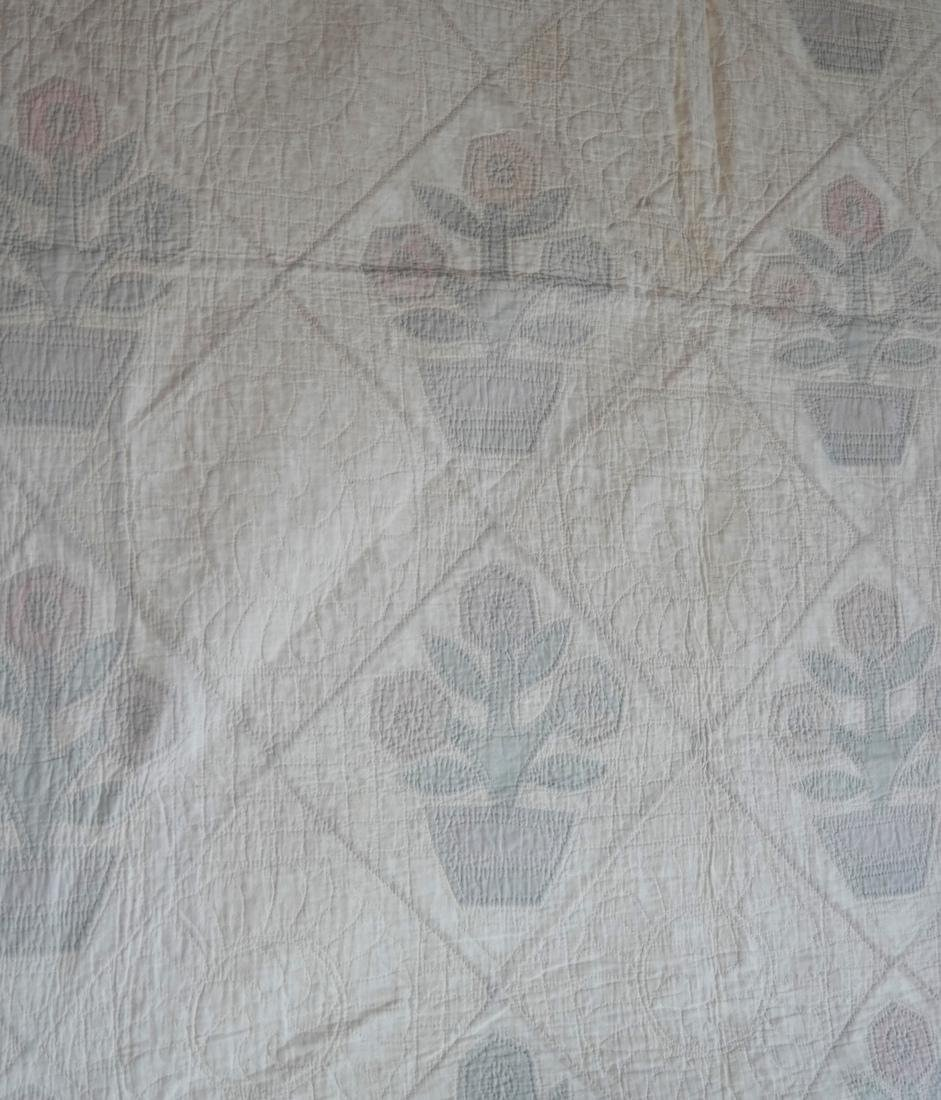 Quilt, Basket of Flowers Pattern, c. 1930 - 4