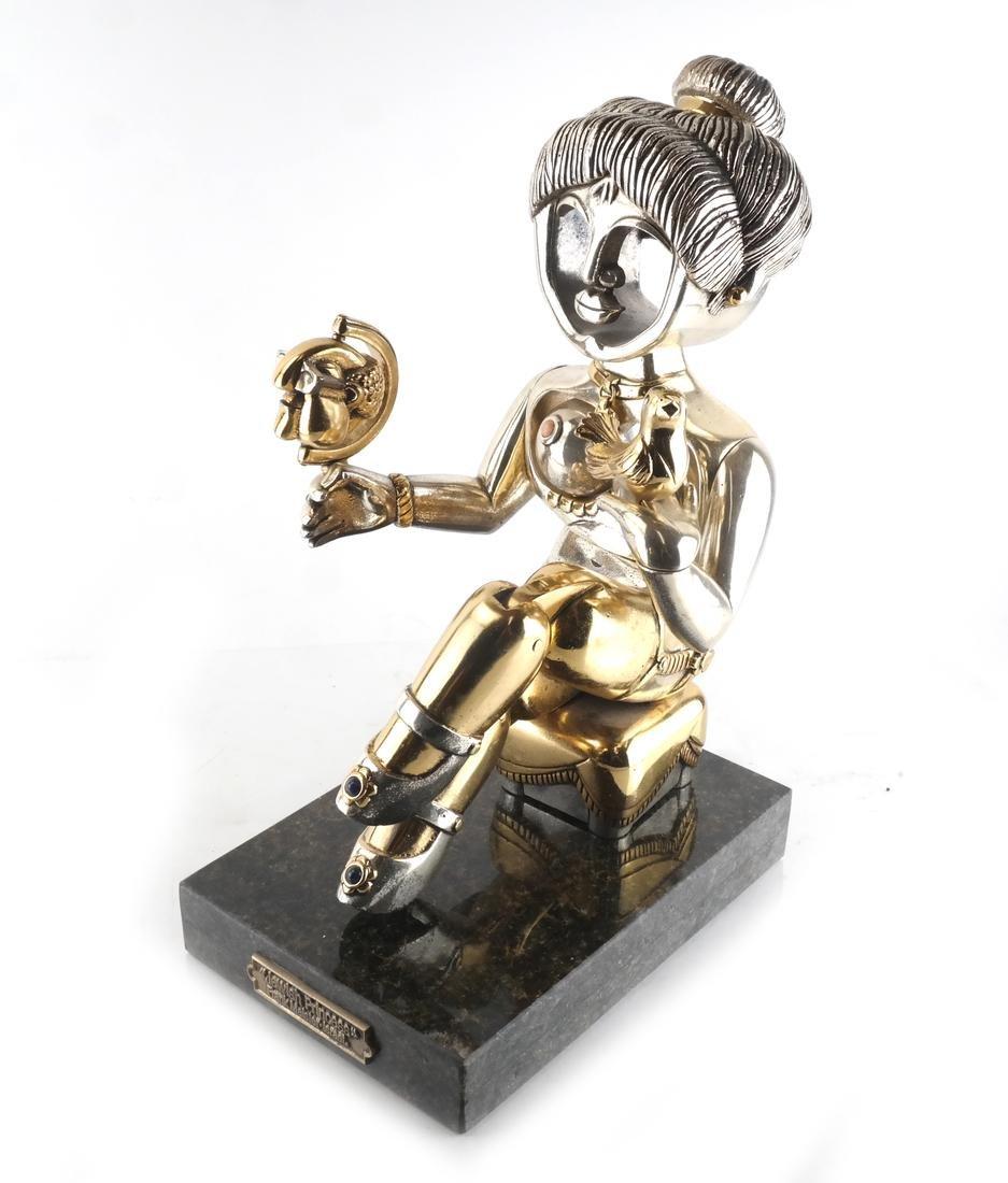 "F. Meisler ""Jewish Princess"" Sculpture"