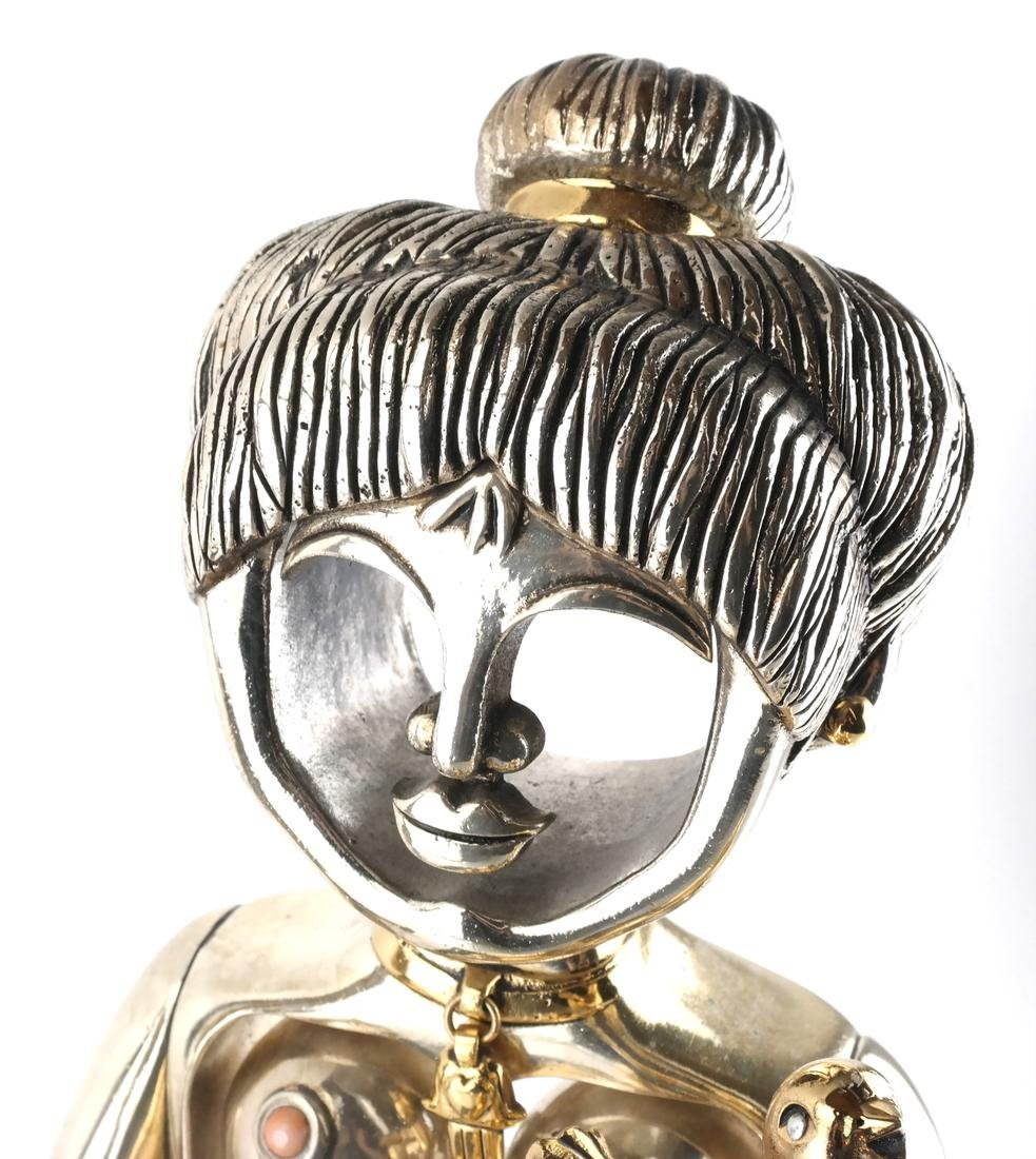 "F. Meisler ""Jewish Princess"" Sculpture - 2"