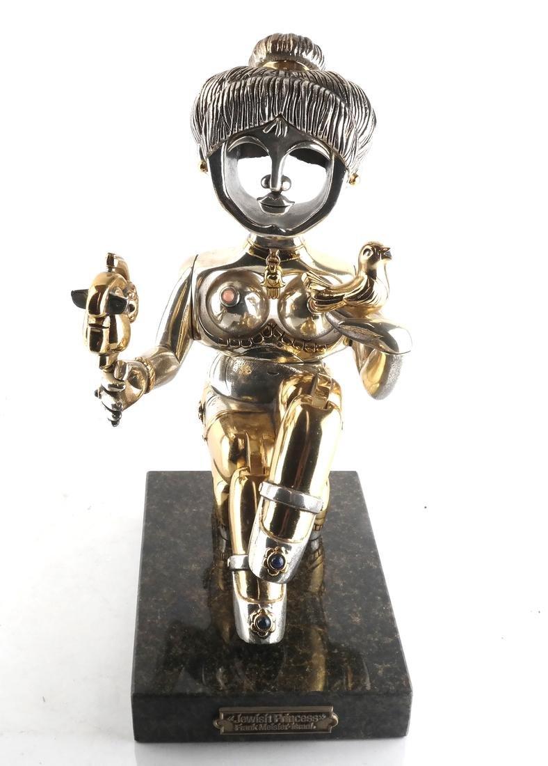 "F. Meisler ""Jewish Princess"" Sculpture - 5"