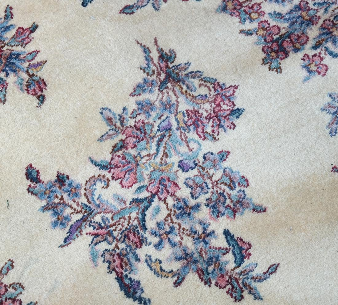 Kirman Floral Design Rug - 6
