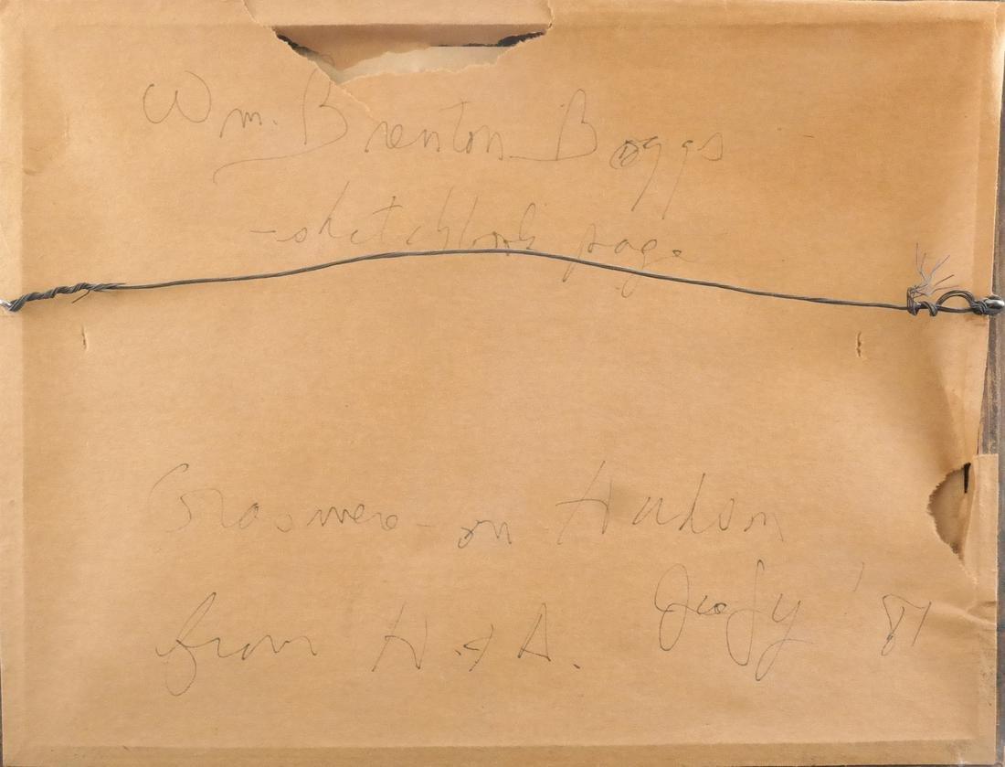 William Trenton Bogs, Strawberry - Watercolor on Paper - 3