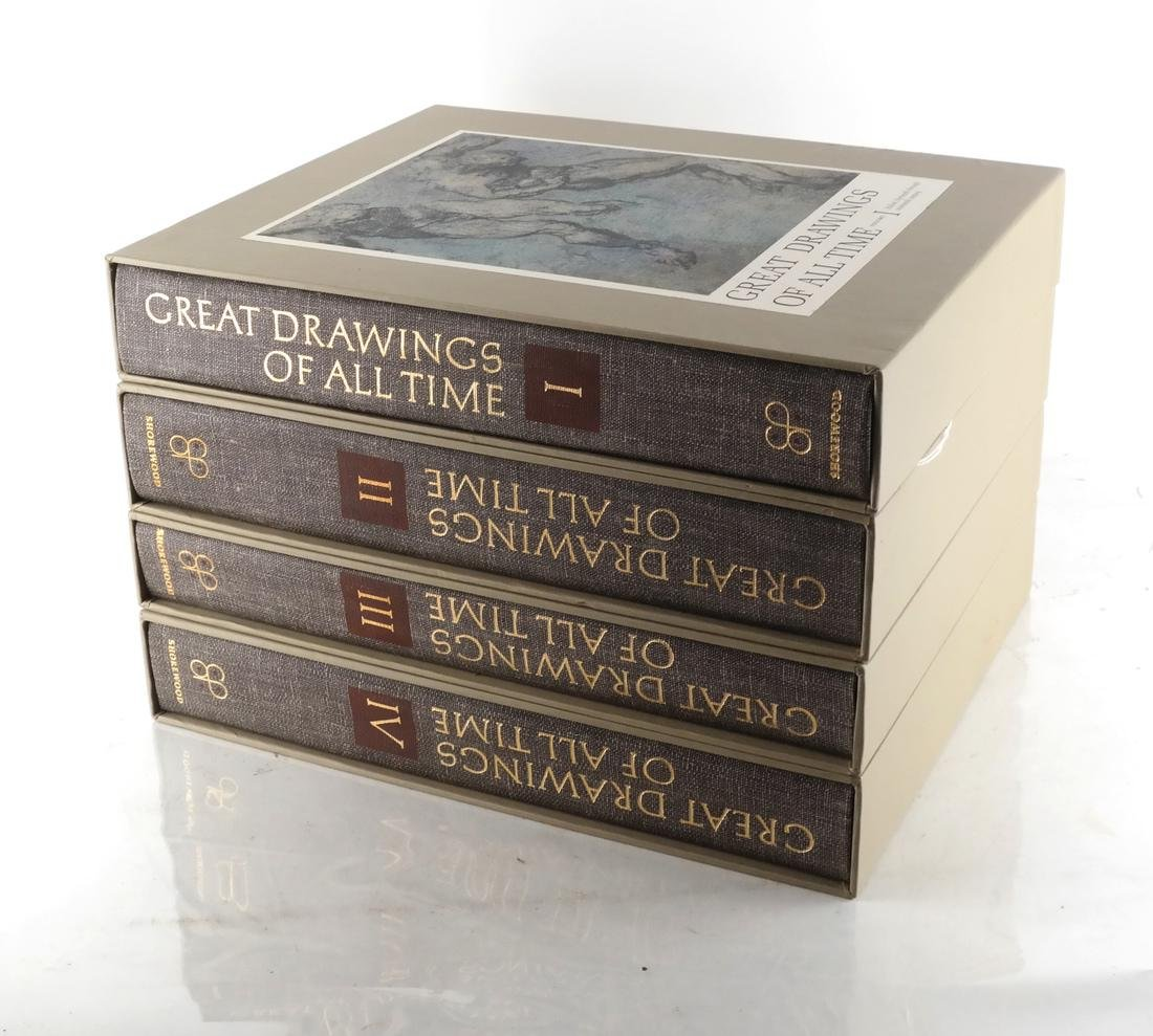 Books: Cased Set - Great Drawings