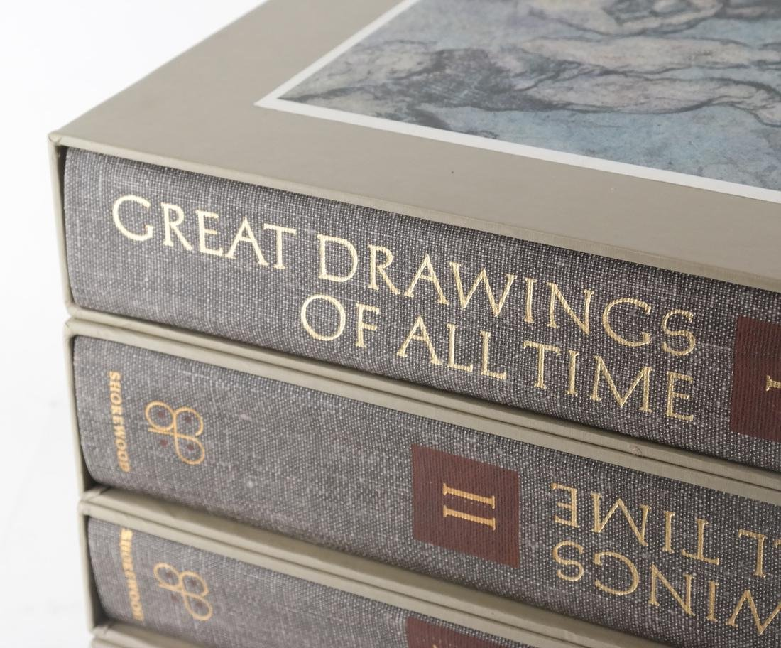 Books: Cased Set - Great Drawings - 2