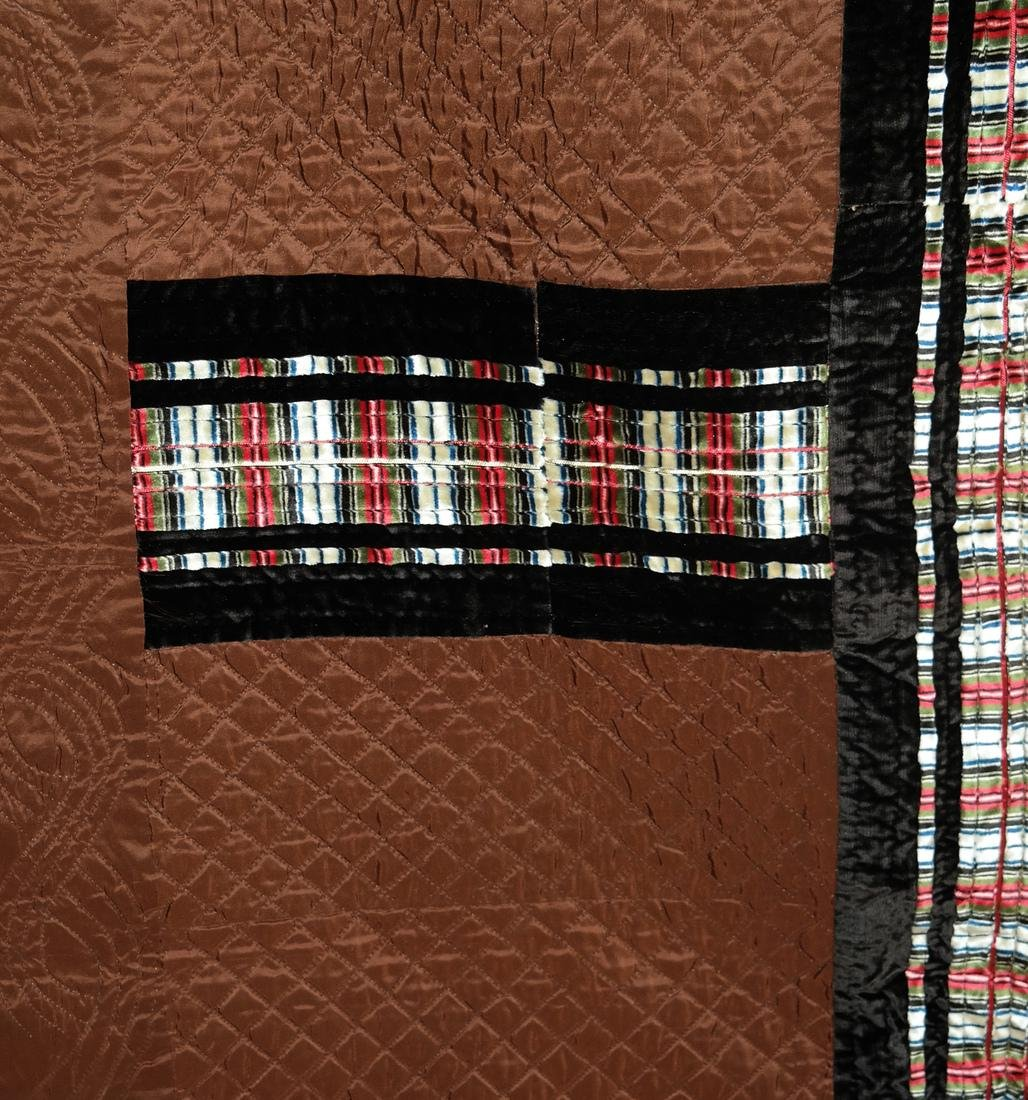 Wool Quilt and Waxed Cotton Quilt - 3
