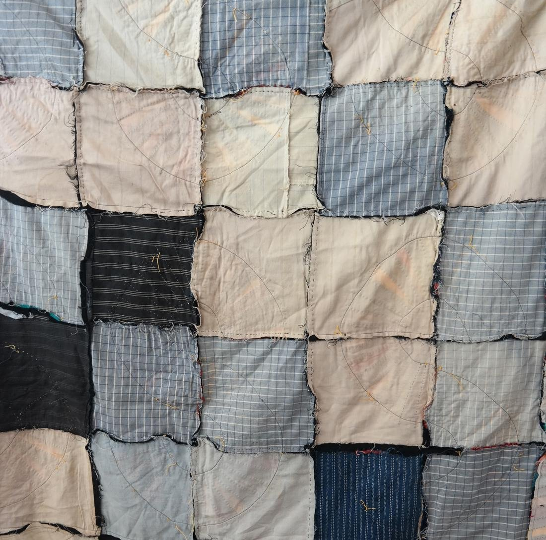 Wool Quilt and Waxed Cotton Quilt - 9