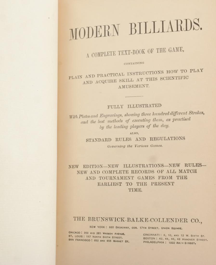 Books: Modern Billiards - 2