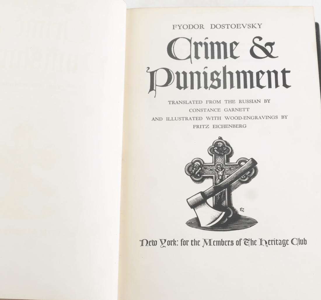 "Books: Dostoevsky ""Crime and Punishment"" - 2"
