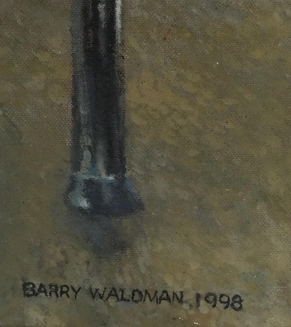 Barry Waldman - Subway Ride - O/C - 3