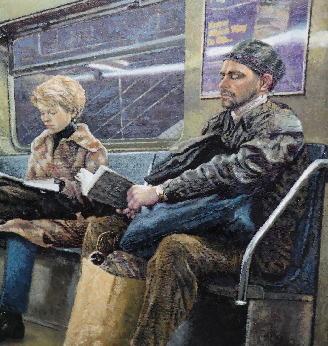 Barry Waldman - Subway Ride - O/C - 4