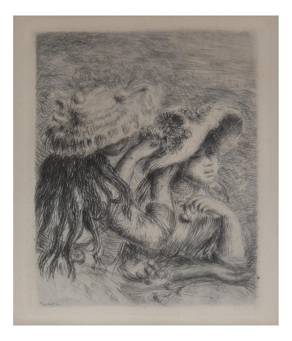 Pierre-Auguste Renoir - Etching