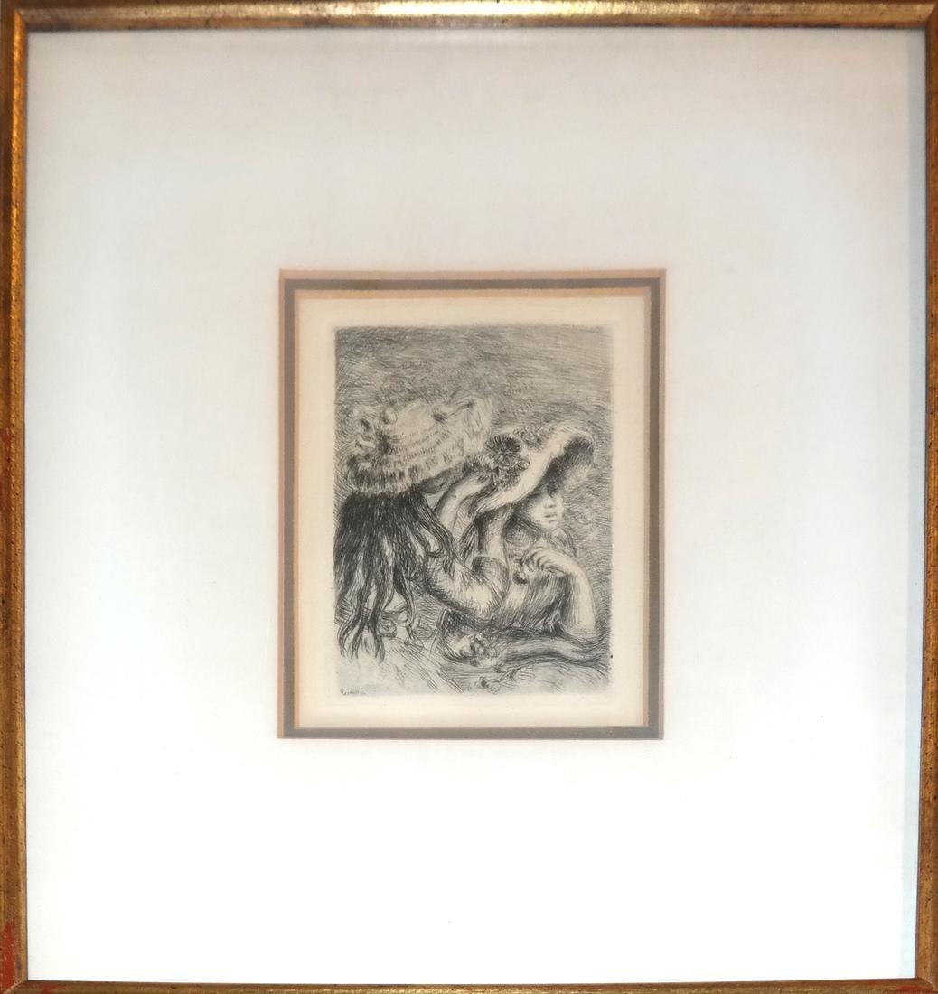 Pierre-Auguste Renoir - Etching - 2