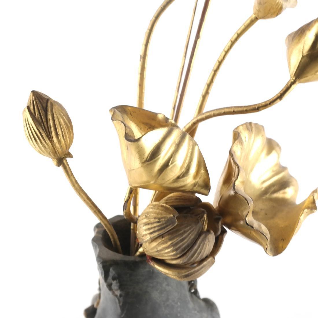 Chinese Soapstone Vase - 5