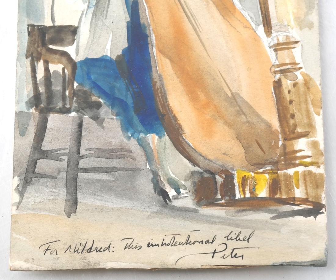 R.W. Woiceska, Engraved Greeting Card - 2