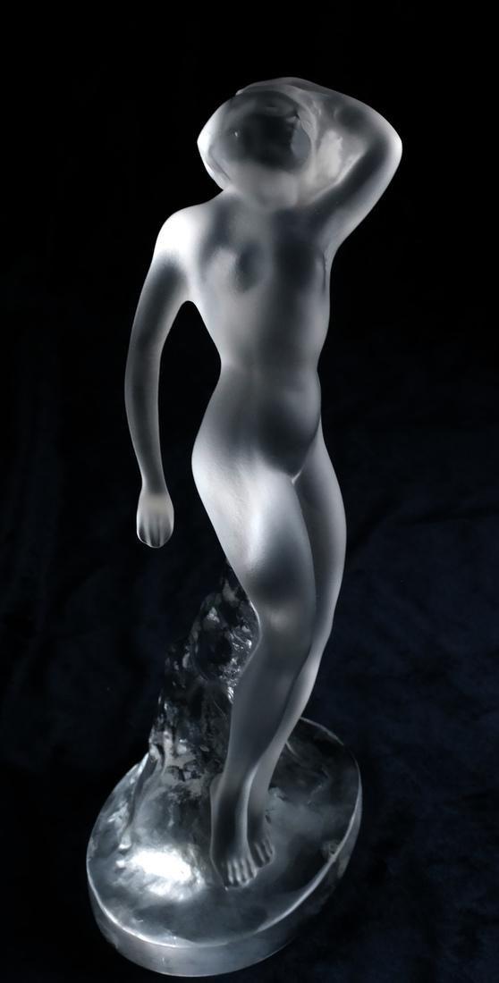 Pair Lalique, France Sculptures - Nudes - 2