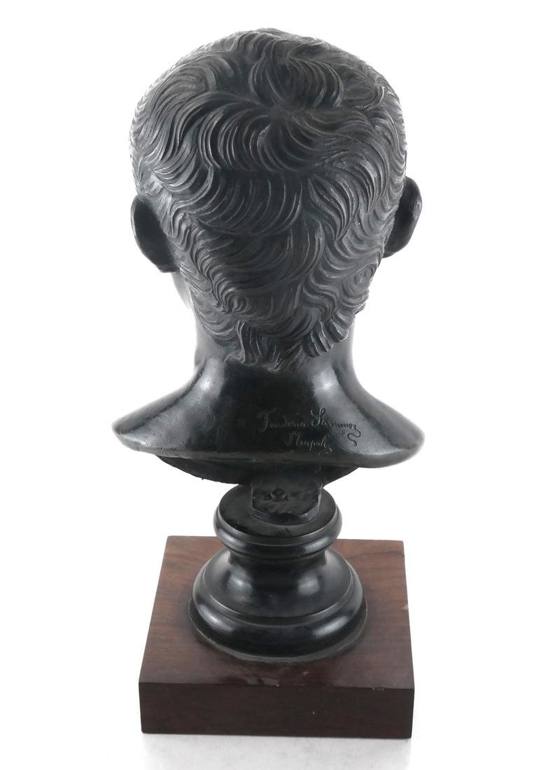Frederic S. Napoli Bronze Bust - 3