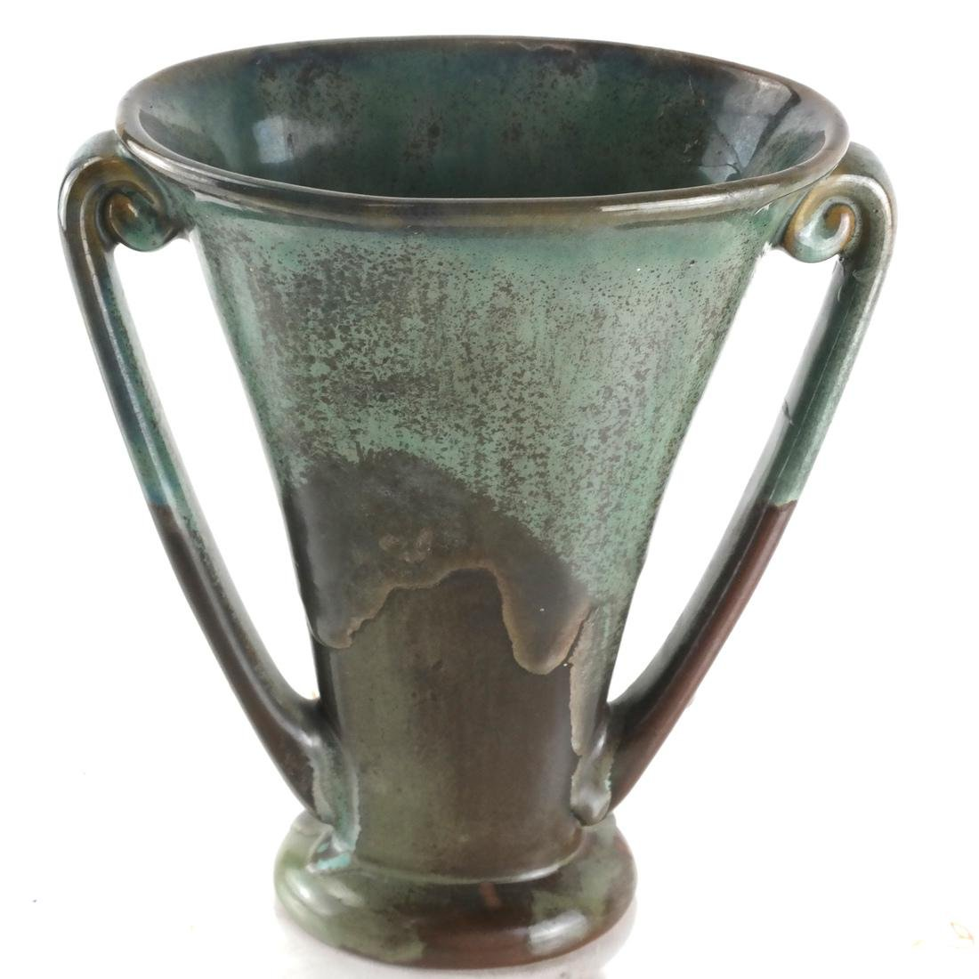 Longwy Vase & Two Others - 2