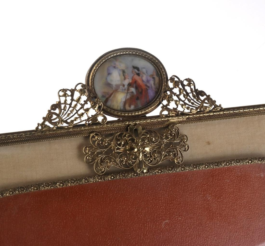 Two Metal Decorated Picture Frames - 2