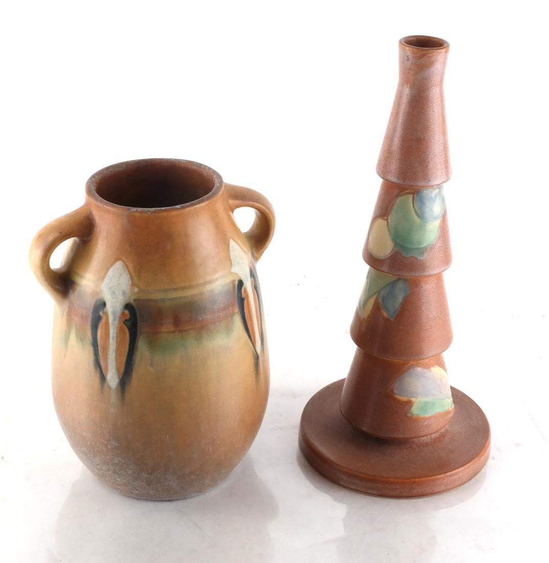 Two American Ceramic Vessels