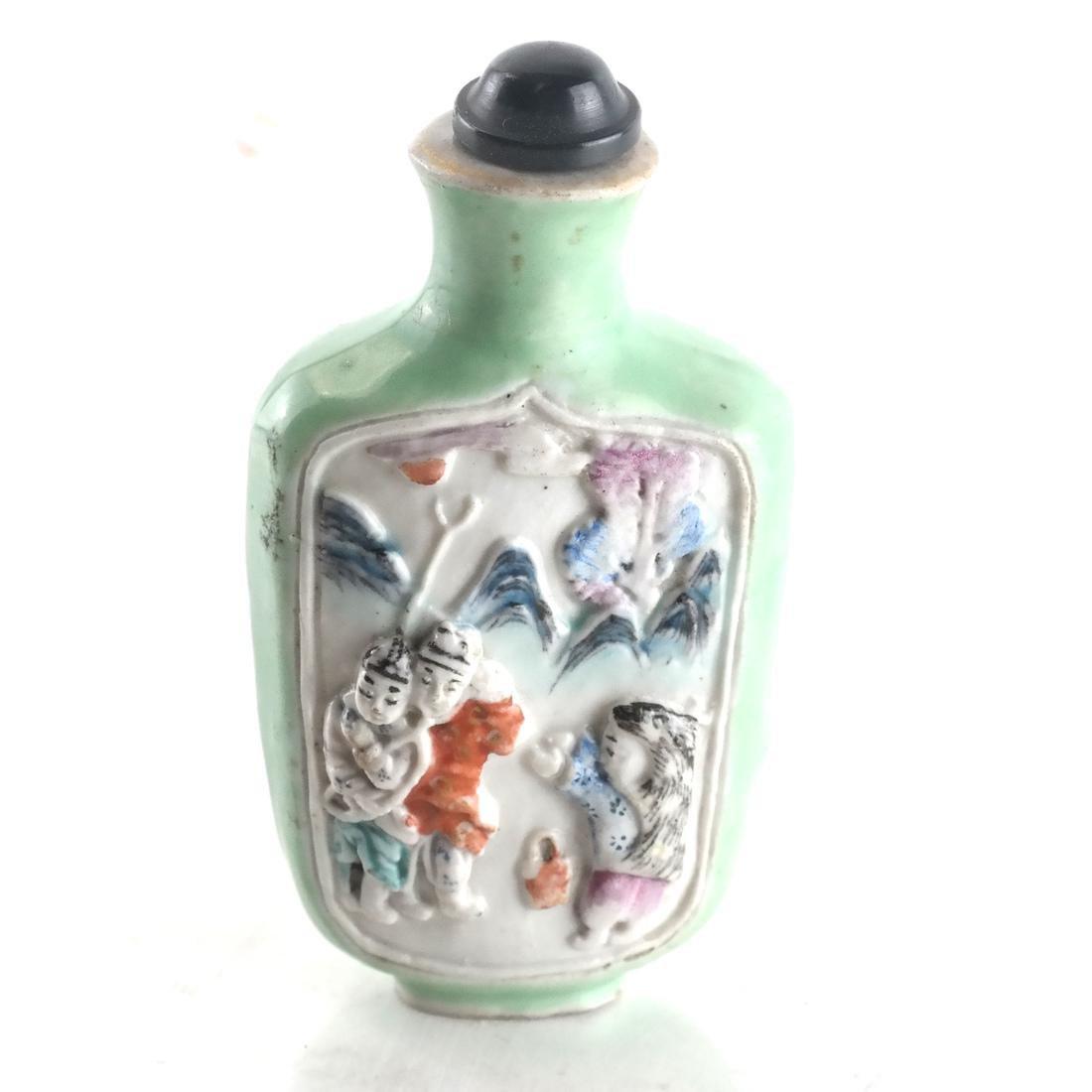 Chinese Ceramic Snuff Bottle - 2