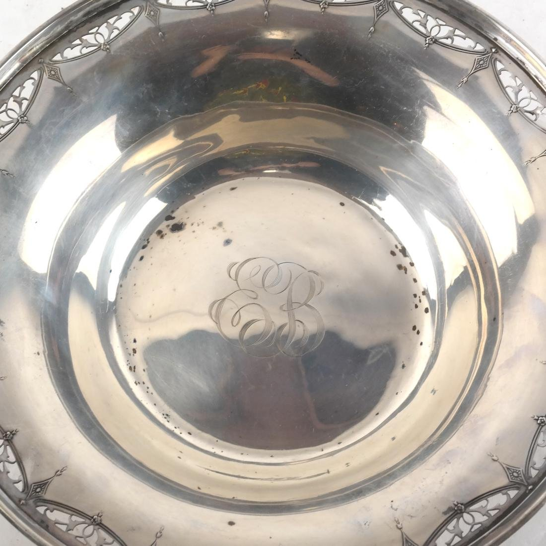 Sterling Silver Reticulated Bowl - 2