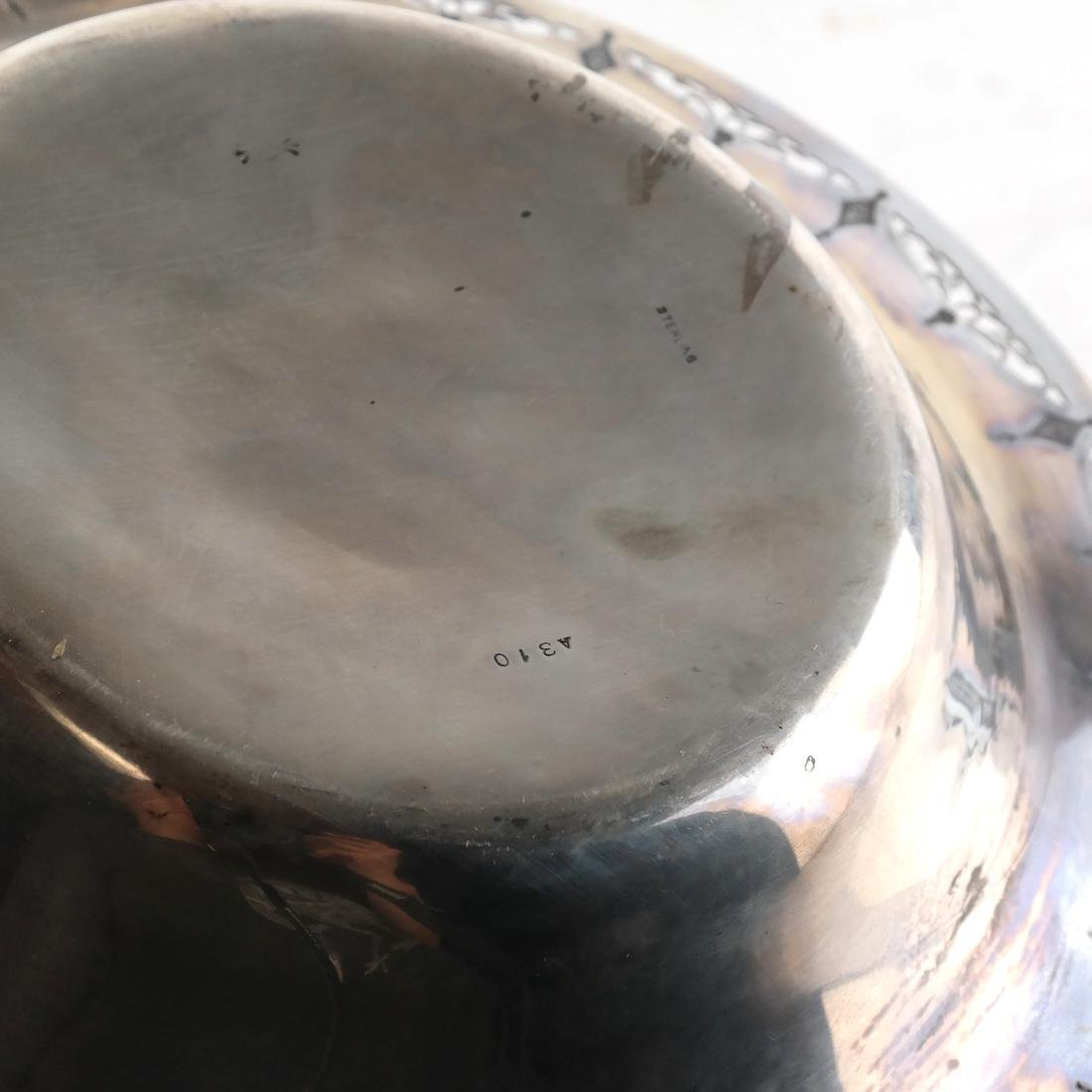 Sterling Silver Reticulated Bowl - 4