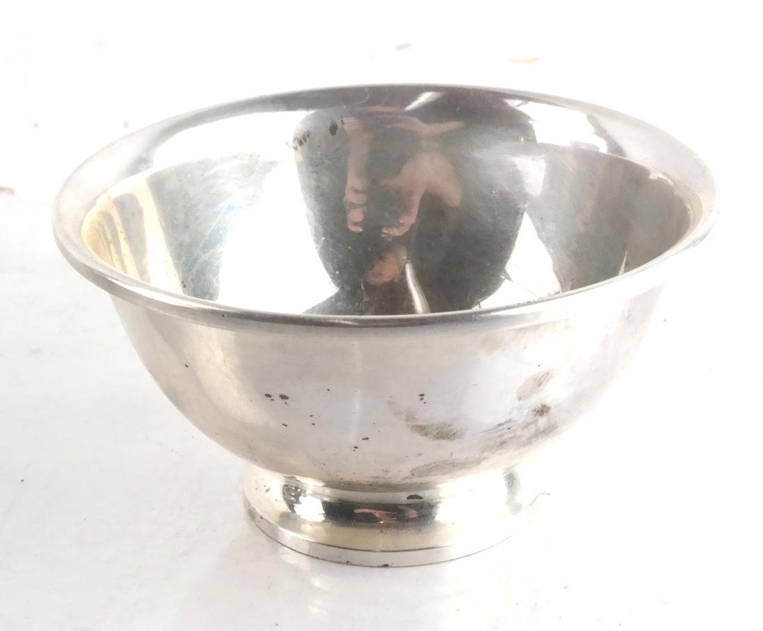 Four Sterling Silver Serving Items - 2