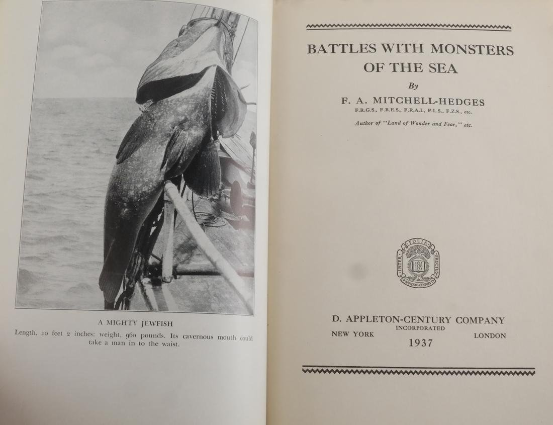 Books: Battle With Monsters, The Sea - 3