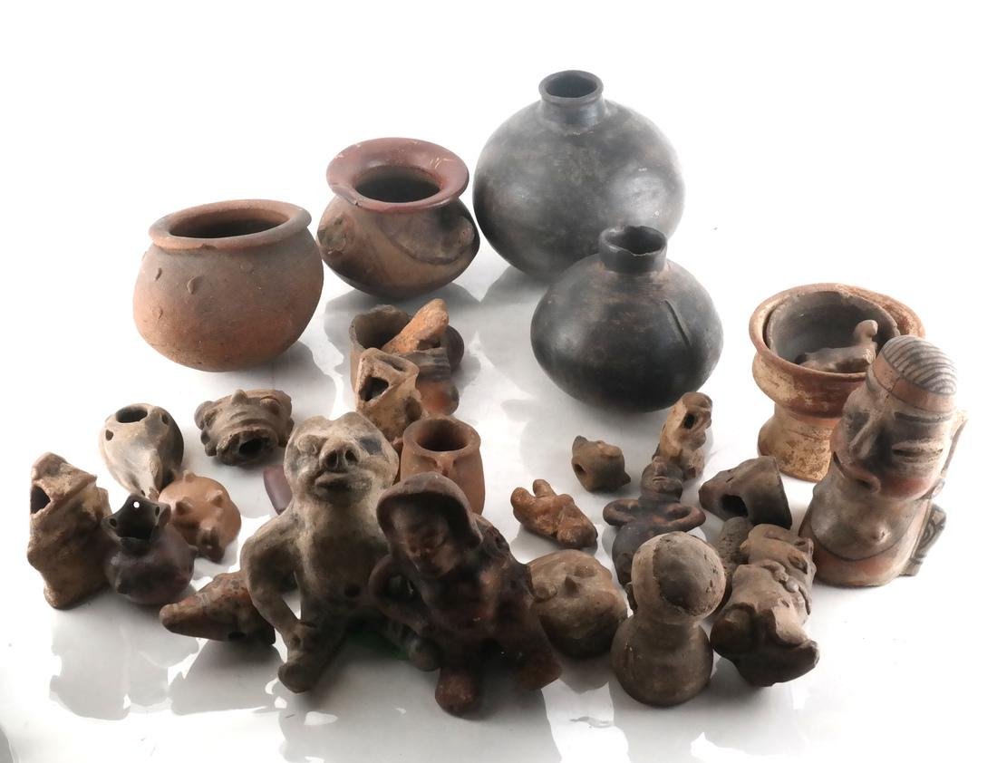 Pre-Columbian Pottery Articles