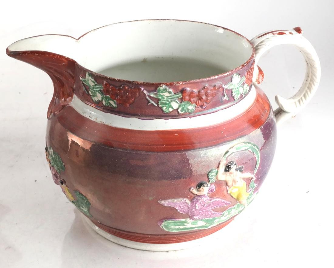 Collection of Pottery; Teapot, Jug - 2