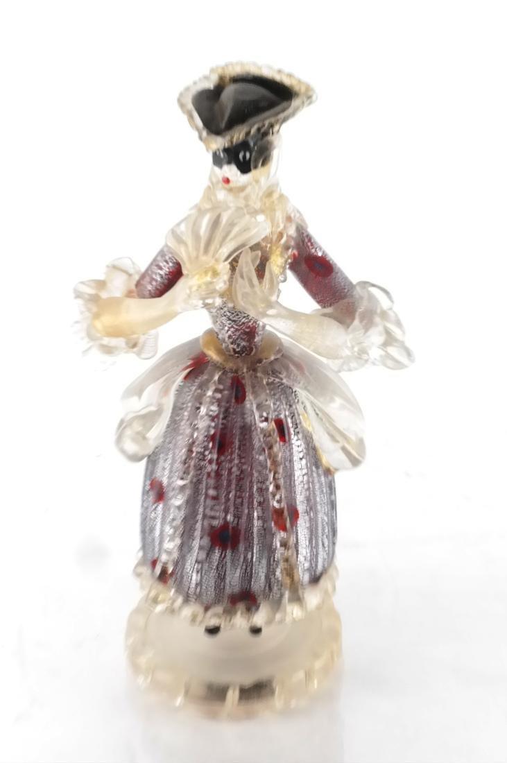 Italian Glass Figure of a Woman