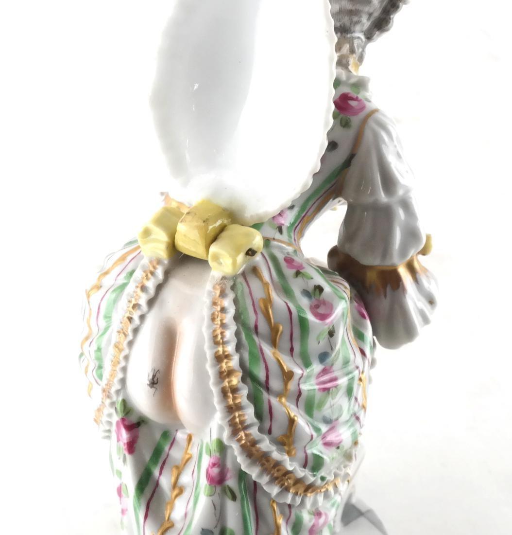 Sevres Porcelain, Woman in Dress - 3