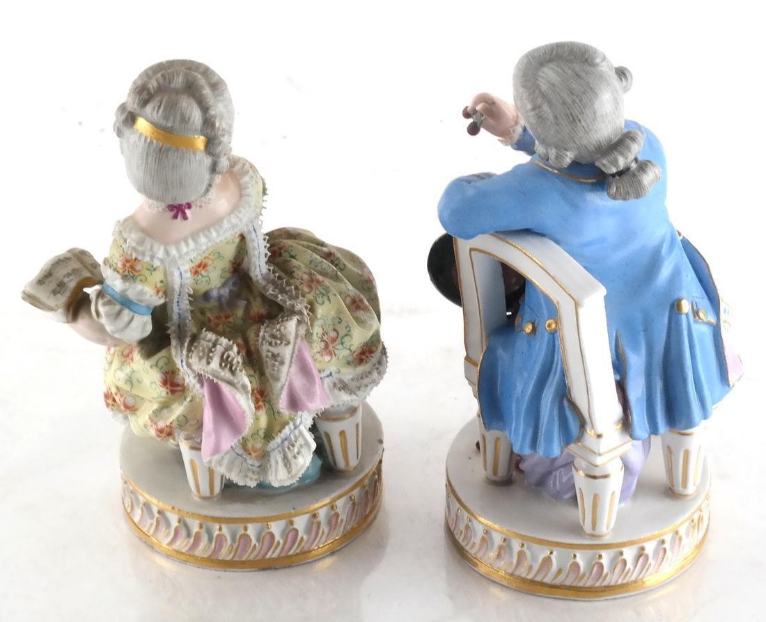 Pair Meissen Sculptures of Children - 4