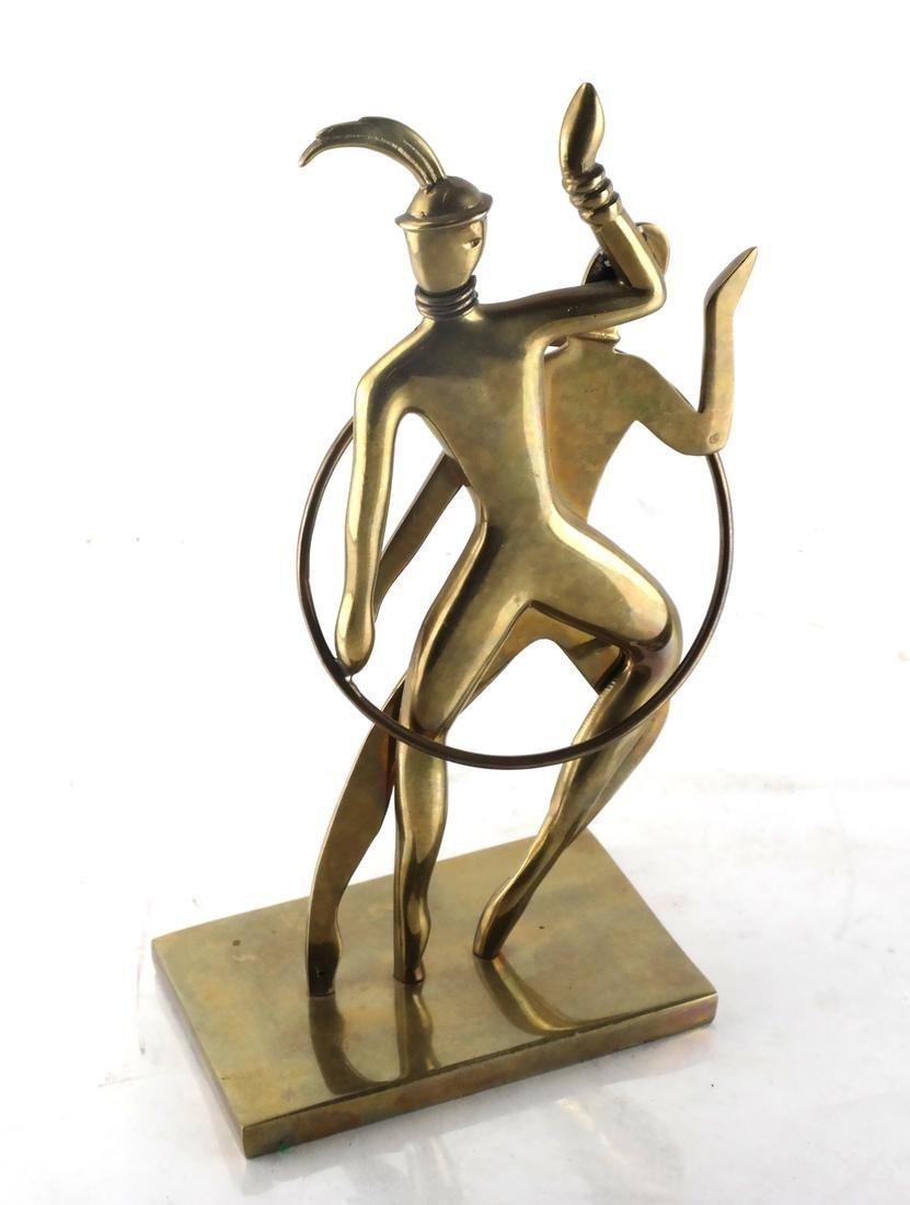 Hagenauer-Style Art Deco Bronze, Dancers - 2