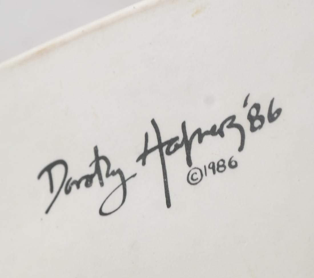 Dorothy Hafner Decorated Teapot - 5