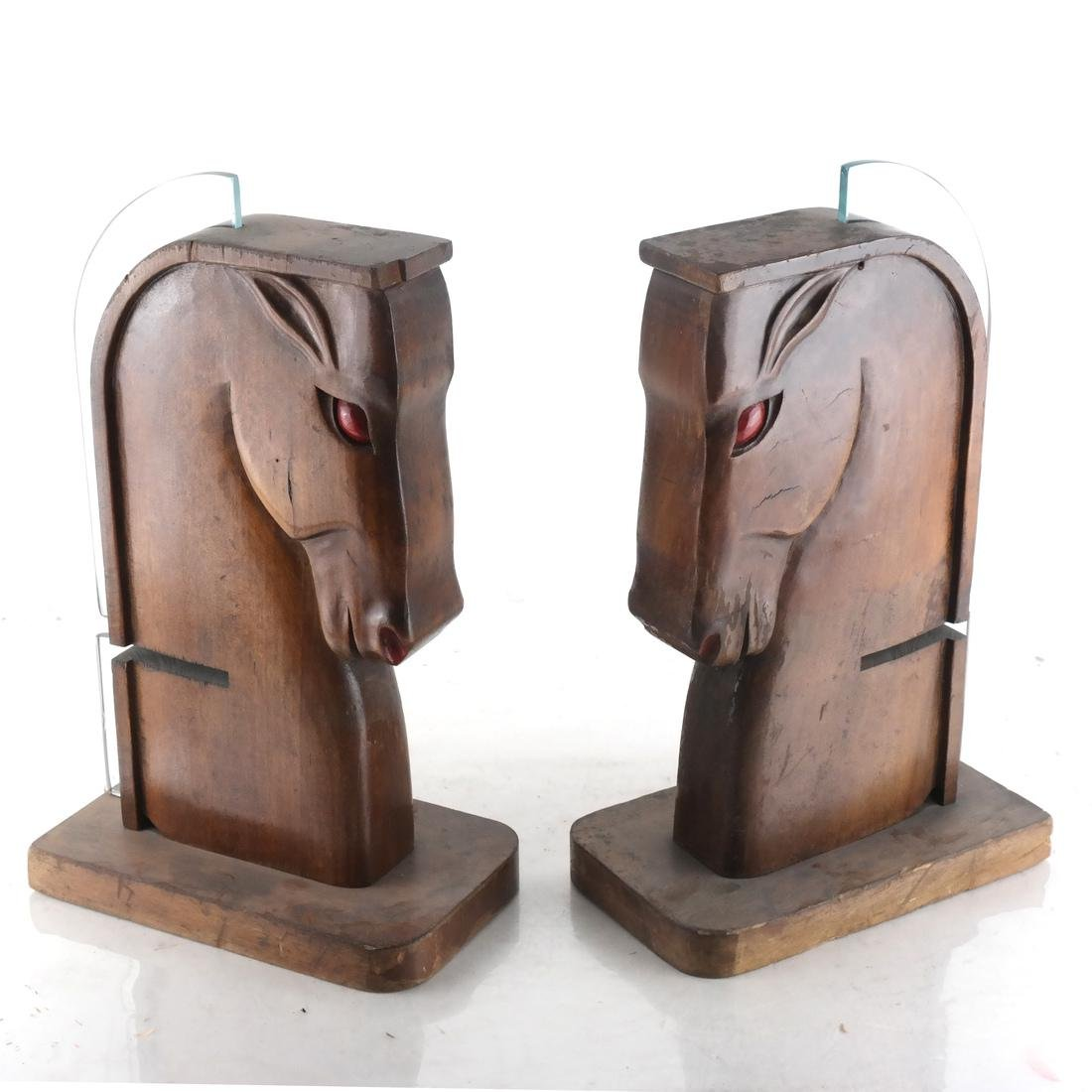 Pair of Art Moderne Horse Bookends