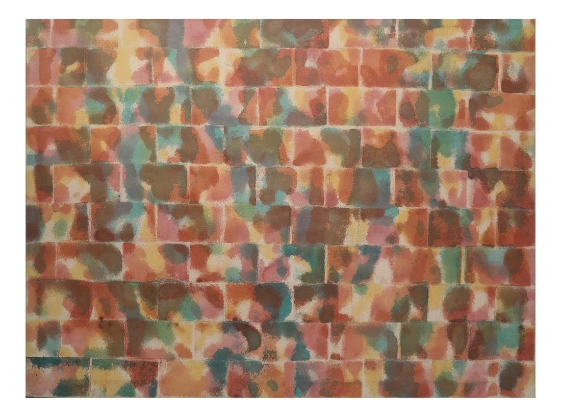 Ellen Sears, Abstract Oil on Canvas