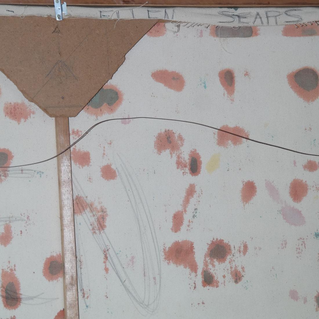 Ellen Sears, Abstract Oil on Canvas - 5
