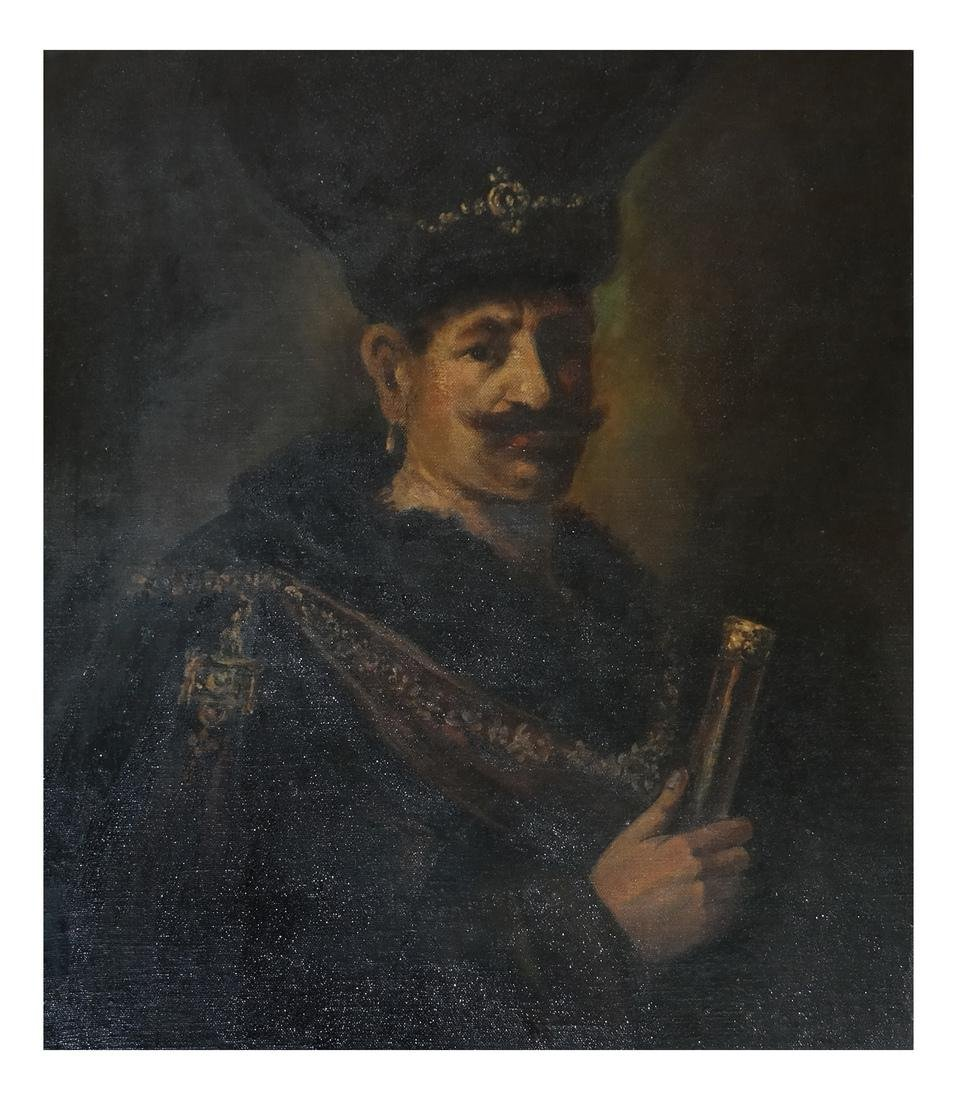 Portrait of a Russian Cossack